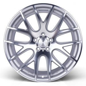 3SDM | Cast & Forged Alloy Wheel Brand 001-f-silver-1-300x300 Set of 18x8.5/9.5 5×100 et35 0.01 Silver Cut