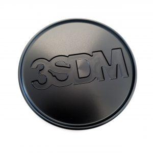 3SDM Metal Centre Caps   Black