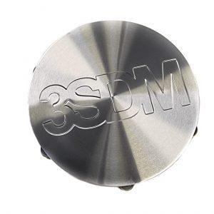 3SDM Centre Caps | Silver