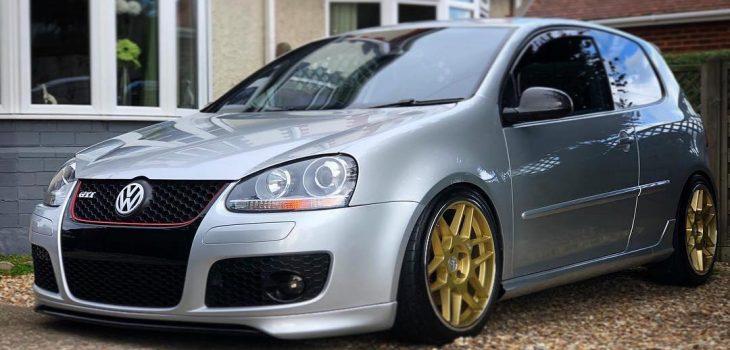 3SDM 0.09 x VW Golf _______________________________________Car : Photo : pl