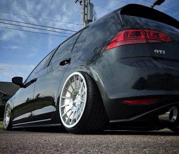 3SDM 0.66 x VW Golf _______________________________________Car : Photo : ple