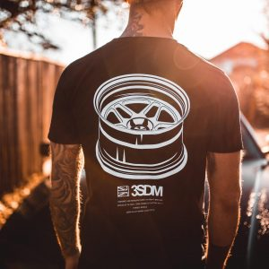 Wheels Tee | Black