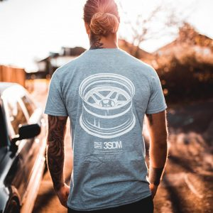 Wheels Tee | Grey