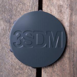 3SDM Centre Caps | Grey *Ltd Edition*