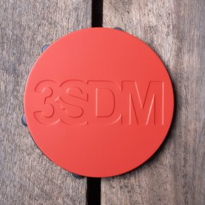 3SDM Centre Caps   Red