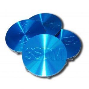 3SDM Center Caps | Blue