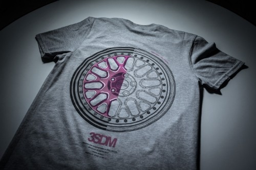 Forged Tee | Grey&Pink
