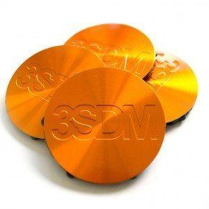 3SDM Centre Caps | Orange