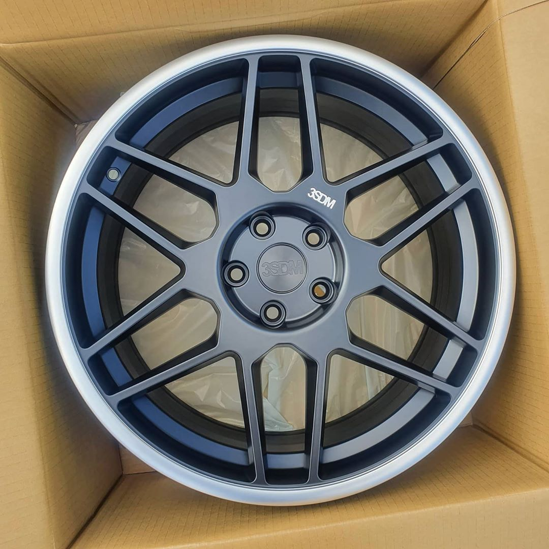 New Arrival by Popular Demand3SDM 0.09 in 19x8.5 Satin Black Cut Lip!!Full S