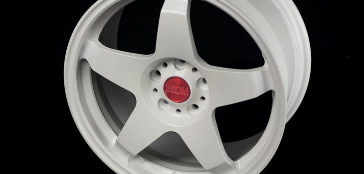 New release3SDM 1.10-R White with optional red capForged 1pc monoblock Spe