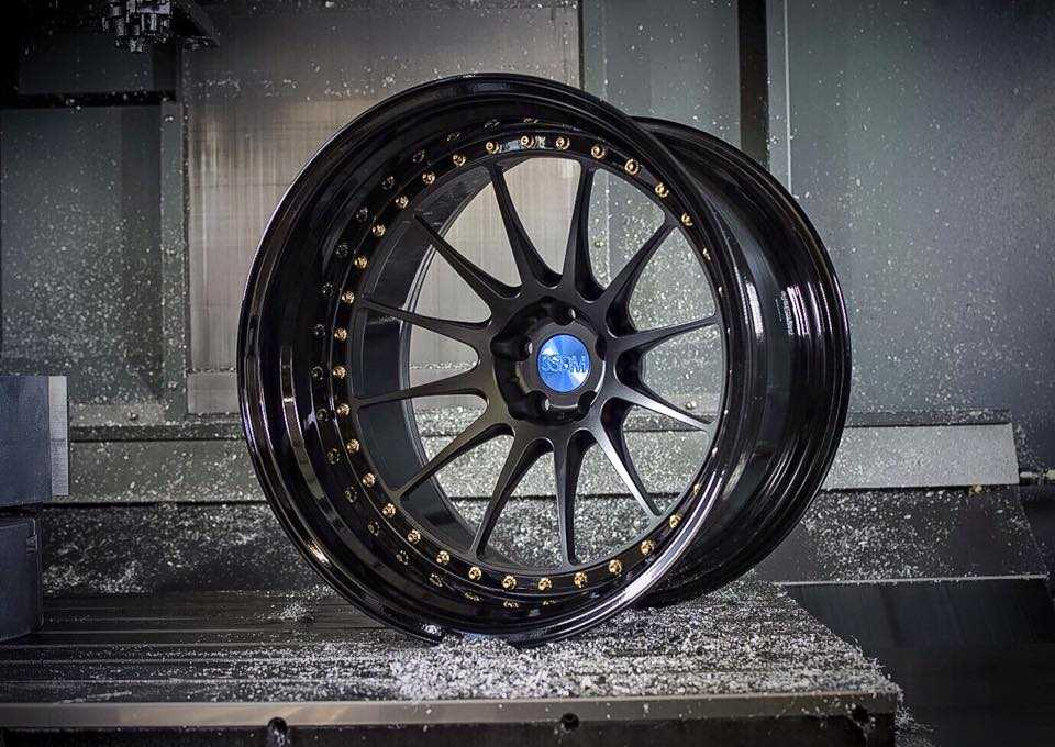 3pc Forged alloy wheels
