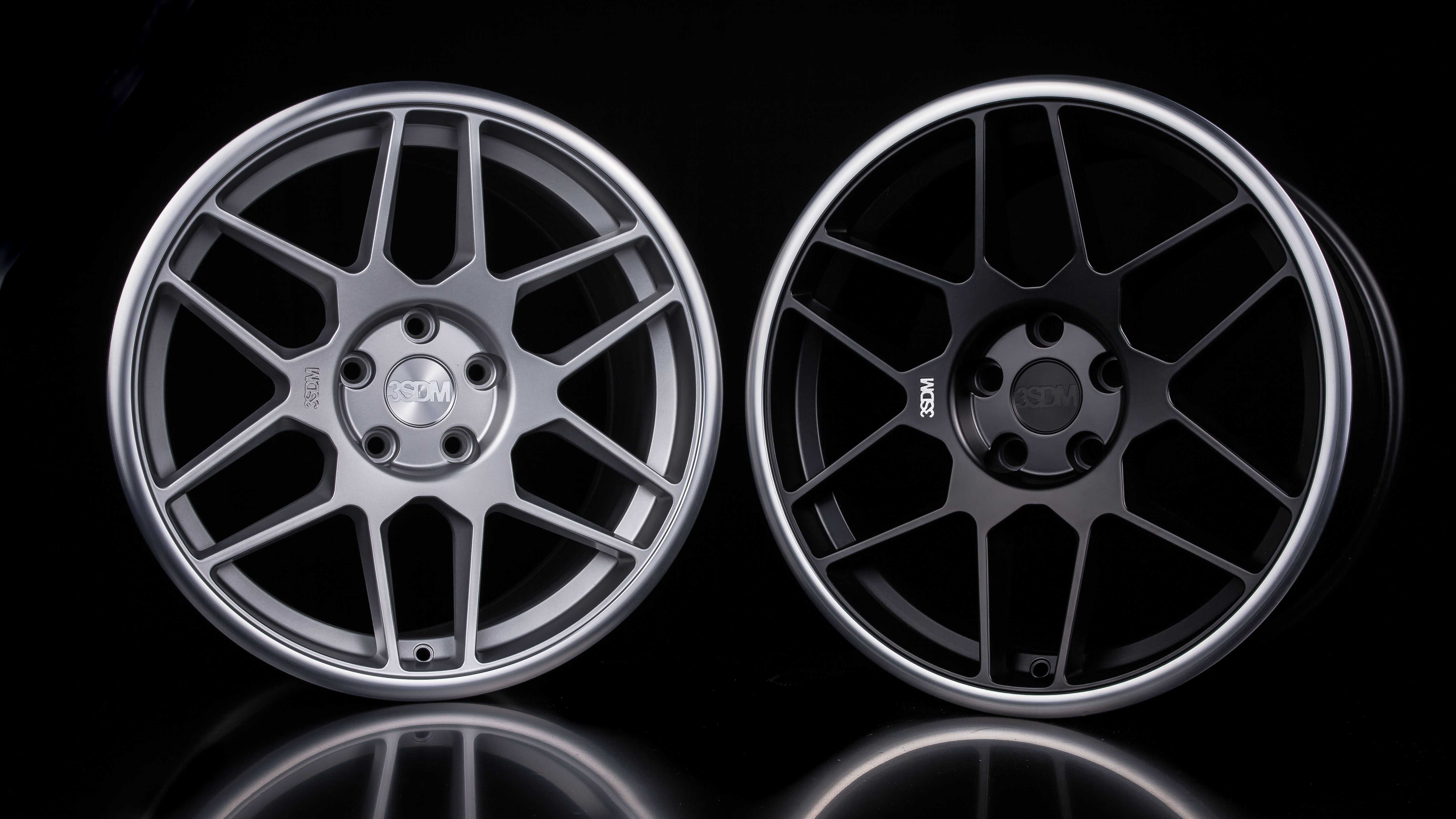 Cast and spin forged alloy wheels